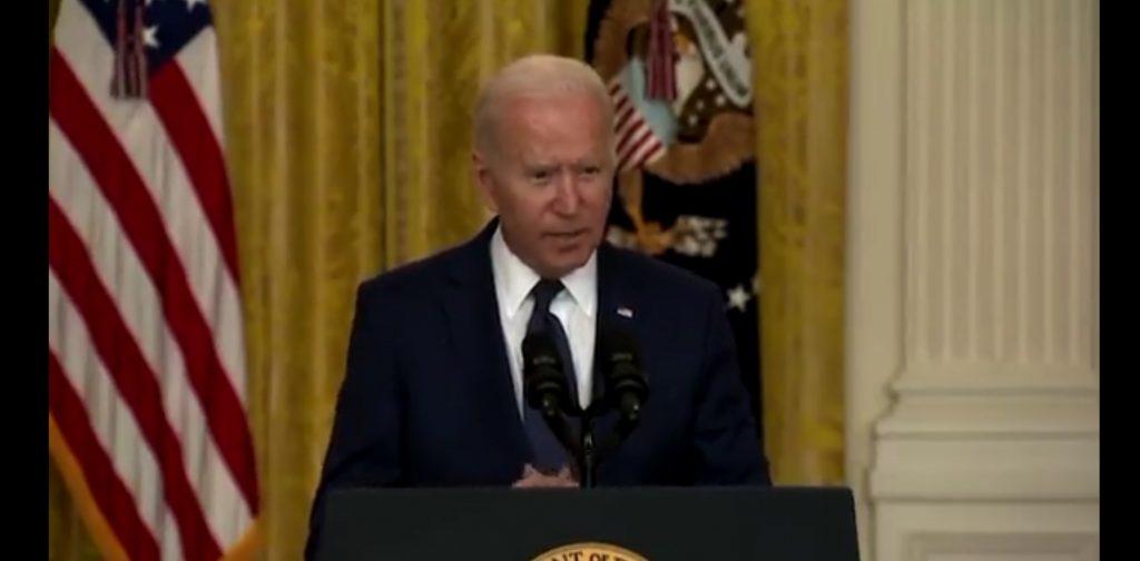 """Biden """"instruit"""" ce are de făcut. Acesta a scăpat informația într-o conferință de presă"""