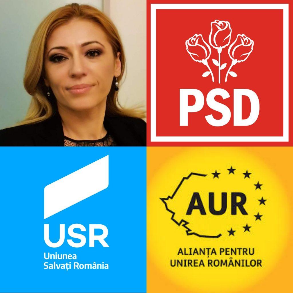 Elena Radu, avocat și totodată președinta Coaliției pentru Apărarea Statului de Drept, a adresat o scrisoare deschisă către partidele politice PSD, USR și AUR.