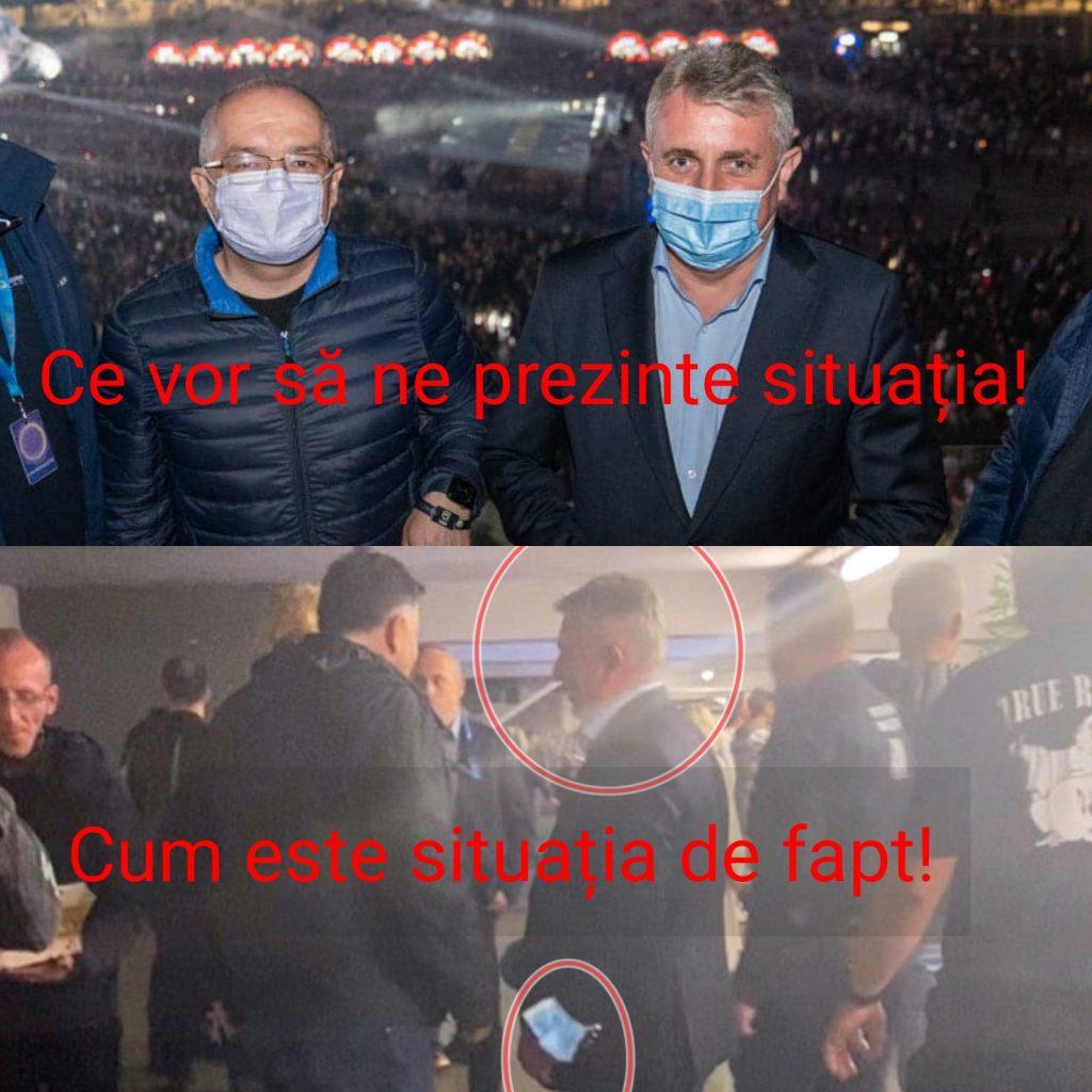 """Liberalul Lucian Bode, ministrul de Interne și, totodată, interimar la Justiție, a fost zărit, la finele acestei săptămâni, la Cluj, """"luând pulsul"""" la festivalul UNTOLD fără mască de protecție. Legea nu e aceeași pentru toți!"""