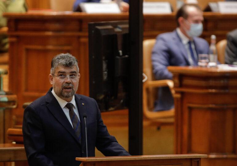 AUR solicită PSD și USR PLUS să voteze transparent moțiunea de cenzură împotriva Guvernului Cîţu